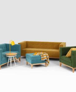 Canapea 2 locuri By Tom turcoaz_1