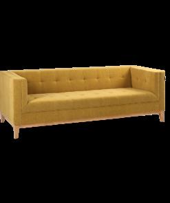 Canapea By Tom 3 locuri galben