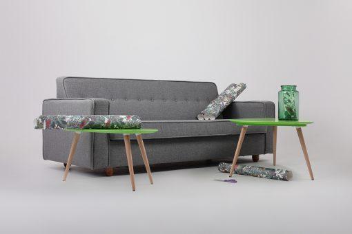 Canapea 3 locuri Zugo gri_1