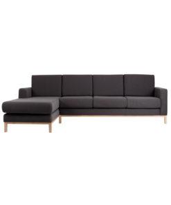 Canapea Scandic cu sezlong stanga 3 locuri
