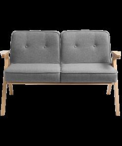 Canapea Vinc 2 locuri gri