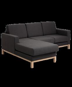 Canapea Scandic cu sezlong stanga 2 locuri