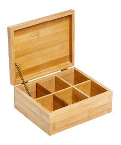 Cutie pentru ceai Bamboo