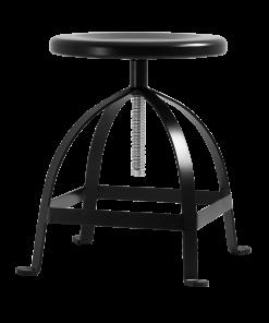 Scaun Twist 65 rotativ negru