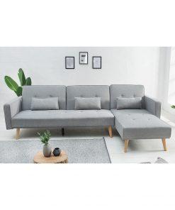 Canapea Nordic cu sezlong dreapta/stanga