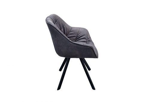 Scaun Comfort gri inchis_2