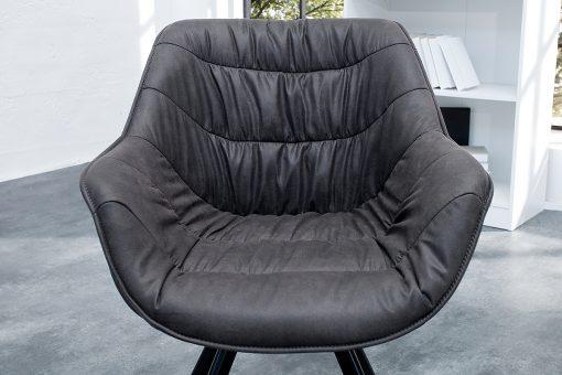 Scaun Comfort gri inchis_4