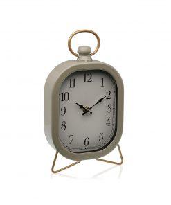 Ceas de masa Versa Quadro gri inchis