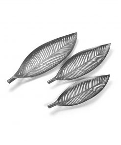 Decoratiune Versa Leaves Silver