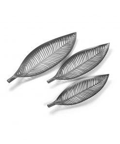 Decoratiune Versa Leaves Silver