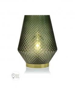 Lampion deco cu led Versa Lucy verde