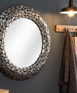 Oglinda Stone Mosaic silver_1