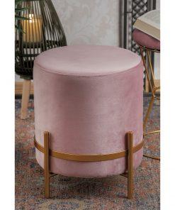 Taburet Globe roz
