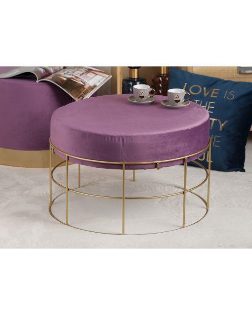 Taburet Niky violet