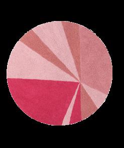 Covor Lorena Geomet Pink Ø 160 cm