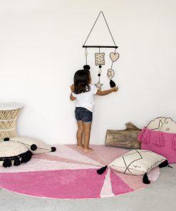 Covor Lorena Geomet Pink_7