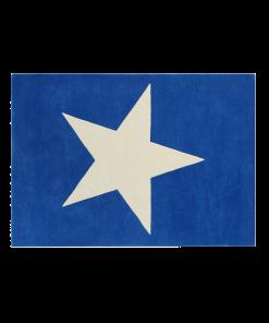 Covor Lorena Star blue 140 x 200 cm