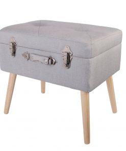 Bancheta CMP Suitcase S1 gri deschis_1