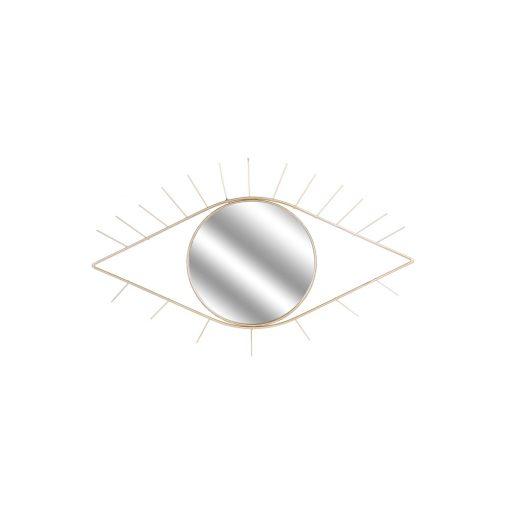 Decoratiune perete cu oglinada CMP Eye Gold