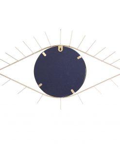 Decoratiune perete cu oglinada CMP Eye Gold_1