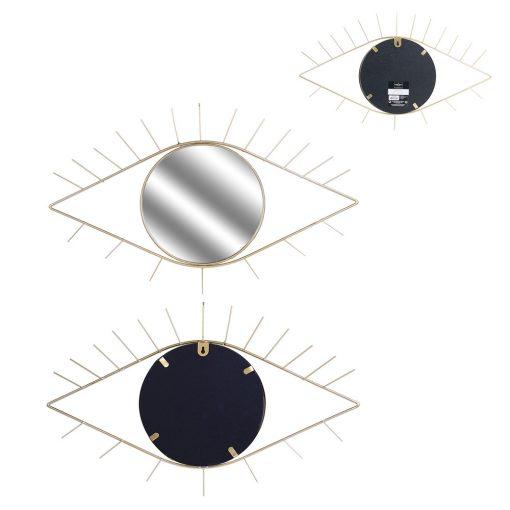 Decoratiune perete cu oglinada CMP Eye Gold_2
