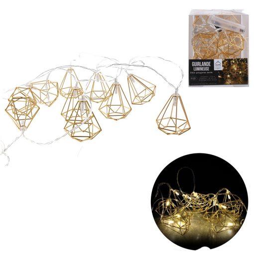 Ghirlanda Luminoasa 10LED CMP Gold_3