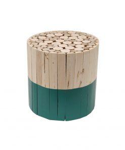 Masuta deco CMP Barile verde/natur