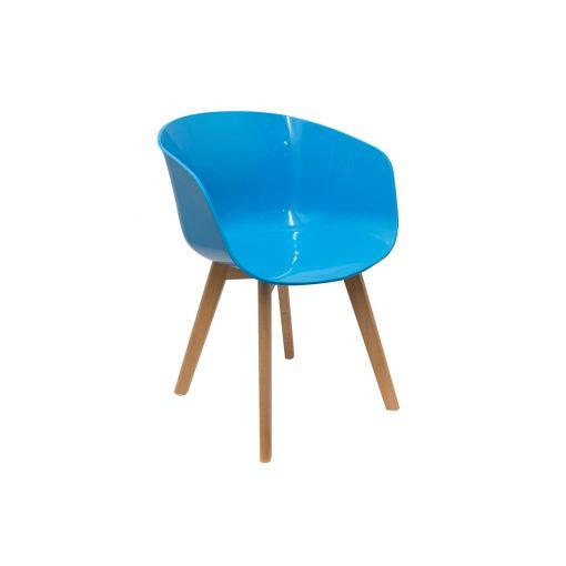 Scaun CMP Glossy albastru