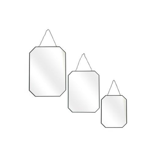 Set 3 oglinzi CMP Oblique Black