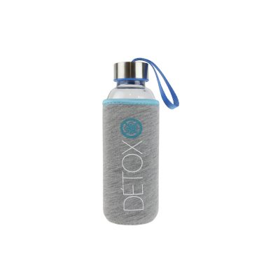 Sticla 35 cl cu husa neopren CMP Detox albastru