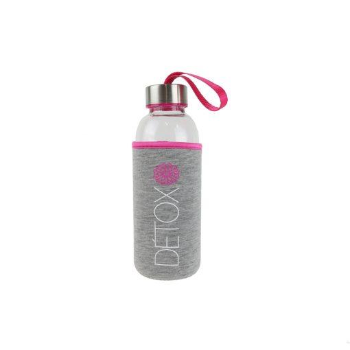 Sticla 35 cl cu husa neopren CMP Detox roz