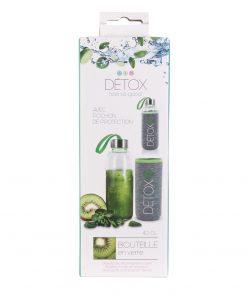 Sticla 35 cl cu husa neopren CMP Detox verde_1