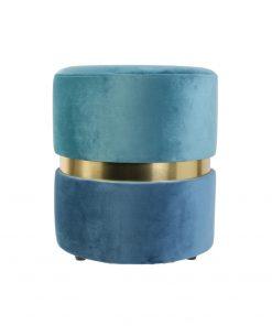 Taburet CMP Conte albastru