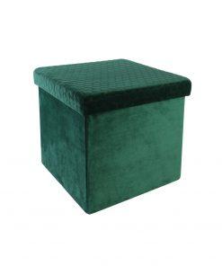 Taburet cu lada CMP Foldab verde