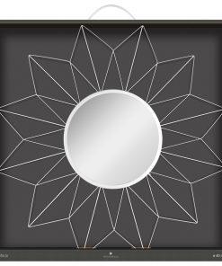 Decoratiune de perete cu oglinda JJA Star S1