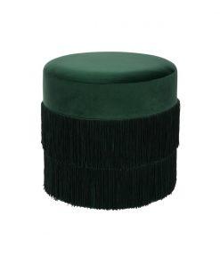 Taburet JJA Fringe verde