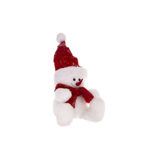 Decoratiune Craciun JJA Snowmen 28cm