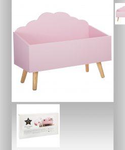 Lada depozitare JJA Cloud roz