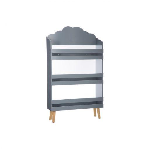 Raft pentru carti JJA Cloud gri