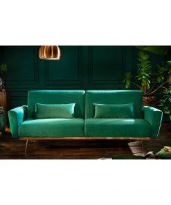Canapea extensibila Invicta Bellezza verde
