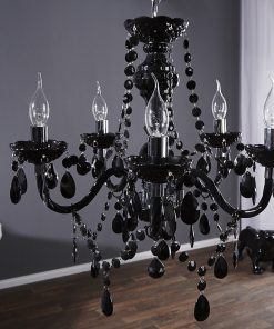Candelabru Invicta Krone 5 ARM Black