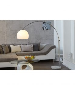 Lampadar Invicta Bow II White