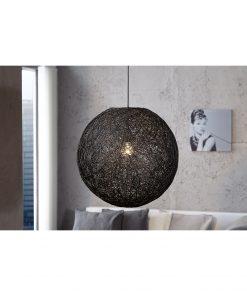 Pendul Invicta Cocooning negru 45 cm