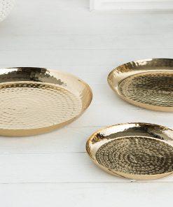 Set 3 boluri deco Invicta Orient gold