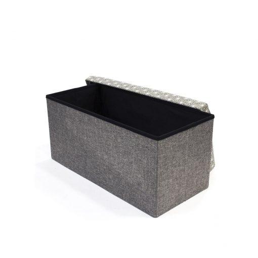 Bancheta cu lada CMP Foldab grey S1