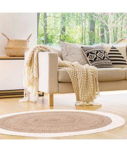 Covor 120cm CMP Montant alb
