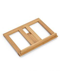 Suport pentru carte de bucate Zeller Bamboo