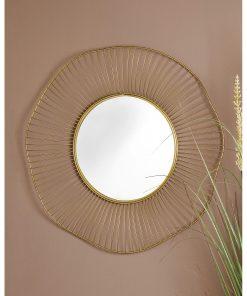Decoratiune perete cu oglinda AD Trend Petalle