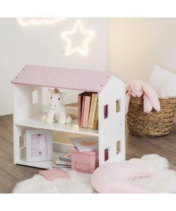 Raft carti copii JJA Amien roz