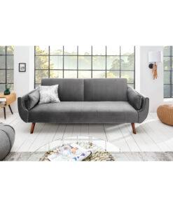 Canapea extensibila Divani gri